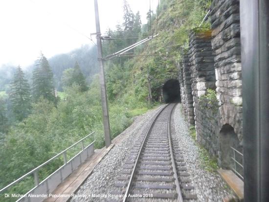 arlbergbahn innsbruck landeck st. anton langen arlberg bludenz gebirgsbahn österreich