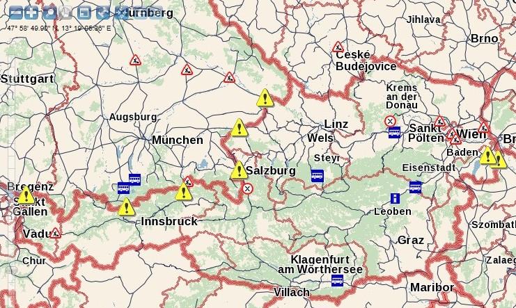 Österreich Deutschland Grenze