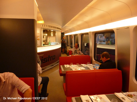 ÖBB Railjet Bordrestaurant - DEEF / Dr. Michael Populorum 2012