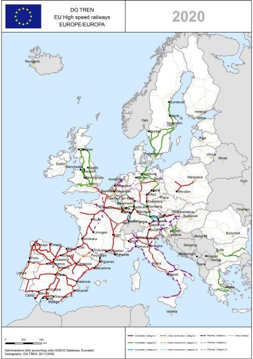 Transeurop 228 Ische Netze Ten Verkehr Eisenbahn Europa Deef